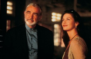 Sean Connery y Catherine Zeta Jones