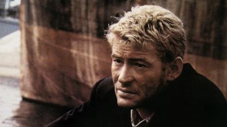 Peter O'Toole en el papel de Lord Jim