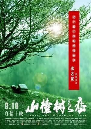 """Cartel de la película """"Amor bajo el espino blanco"""" (2010) de Zhang Yimou"""