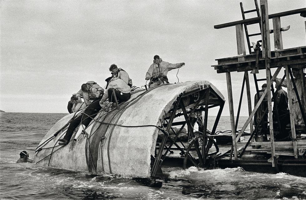 El rodaje de Moby Dick captado por Erich Lessing en 1954 en localizaciones de Gran Canaria.