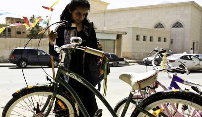 """La bicicleta verde"" de Haifaa Al-Mansour"