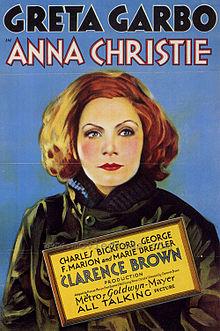 """""""Anna Christie"""" (1930) dirigida por Clarence Brown y Greta Garbo como protagonista"""
