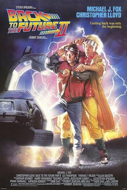 Back to the future II Robert Zemeckis