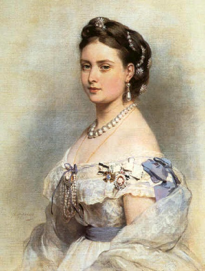 La Reina Victoria de Reino Unido